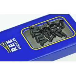 Set de 20 Tampons avec ressort fonctionnel - Wagon OCEM