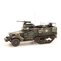 Véhicule américain Half Track M3A1 M2 MG