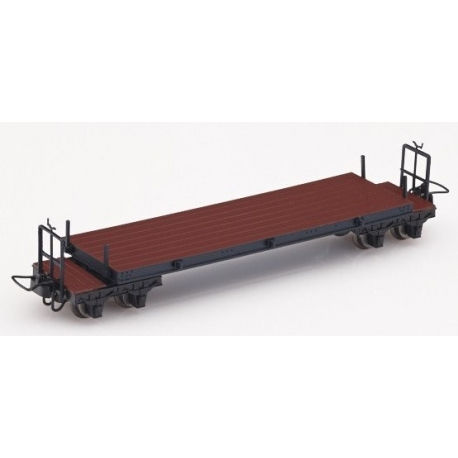 Wagon plat marron