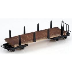 Set de 2 wagonnets plats à ranchers