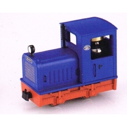 """Locotracteur diesel """"Gmeinder"""" diesel bleu"""