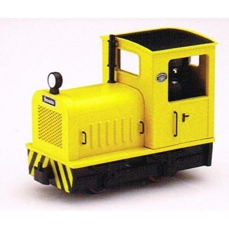 """Locotracteur diesel """"Gmeinder"""" diesel jaune"""