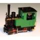 5044 - Locomotive à vapeur Krauss, sans numéro verte