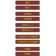Plaques itinéraires Voitures Postales SUD-EST 2 - RAL 3005