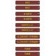 Plaques itinéraires Voitures Postales SUD-EST 2 - NCS 6030-R10B