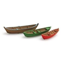 Set de 3 barques 1/160