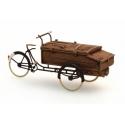 Tricycle de livraison de boulanger 1/87