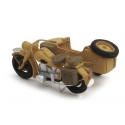 Moto BMW R75 + Sidecar (version civile) 1/87