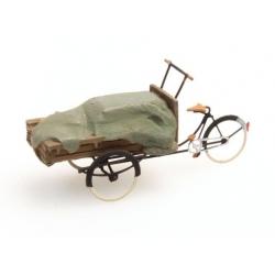Tricycle de livraison bâché 1/87