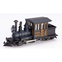 Locomotive Forney Noir/Marron