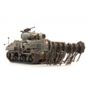 Char US/UK Sherman M4A4 Démineur