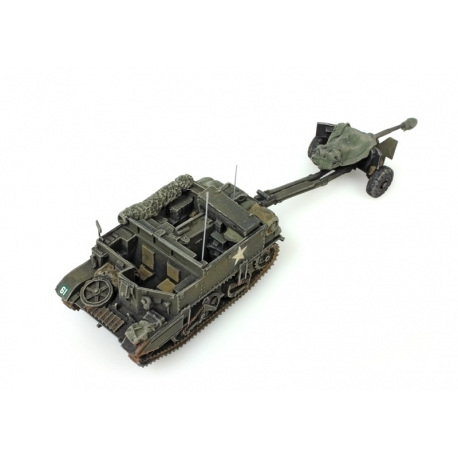 Véhicule blindé de l'armée allemande Sd. Kfz 251/3B Gris avec antenne