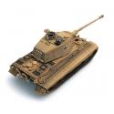 Char Allemand Tigre II Henschel avec revêtement Zimmerit, jaune