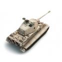 Char Allemand Tigre II Henschel avec revêtement Zimmerit, camouflage jaune hiver