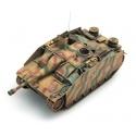 """Chasseur de Char de l'armée allemande Stub III G 1944, manteau de canon """"Saukopf"""", camouflage"""