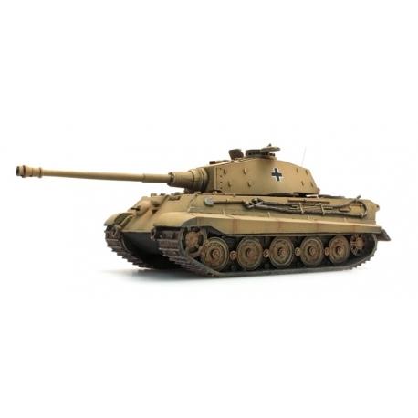 Char de l'armée allemande Tigre II Porsche Zimmerit, Jaune sable