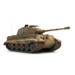 Char Allemand Tigre II Henschel avec revêtement Zimmerit, camouflage jaune