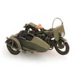 "Moto US ""Liberator"" + sidecar"