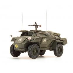 Véhicule blindé de l'armée anglaise Humber Mk I mitrailleuse Bren