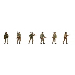 Set de 6 personnages US Infanterie