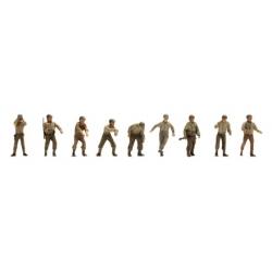 Set de 9 personnages US Artilleurs M12