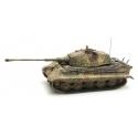 Char Allemand Tigre II Henschel, camouflage