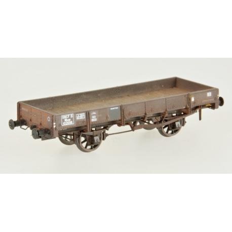 Wagon PLAT OCEM 19 Brun Ep.IIIB patiné par Etienne SAUTIER