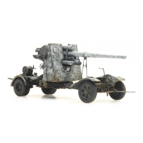 Canon Flak de 88 Camouflage hiver