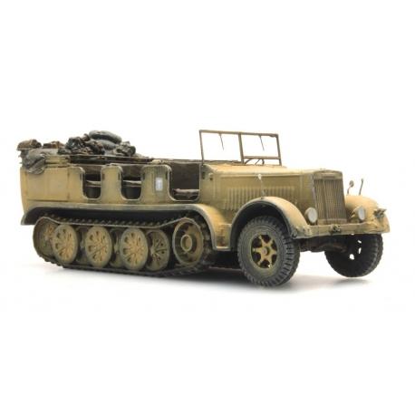 Semi Chenillé Sd Kzf 7 8t pour Canon de 88 Afrika Korps SABLE