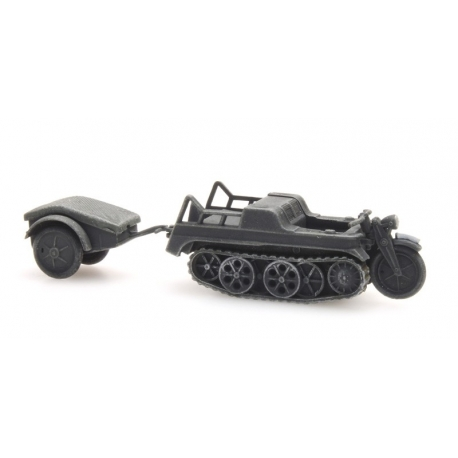 Kubelwagen de l'armée allemande, Gris