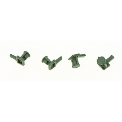 Avertisseur 1 Trompe Mono-Ton (x4 pièces métal de fonderie)