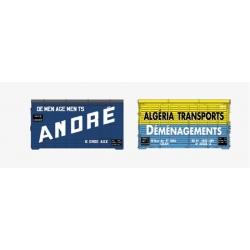 SET de 2 containers Harasse en bois (ANDRE, ALGERIA)
