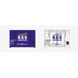 SET de 2 containers Publicitaires (REE MODELES)