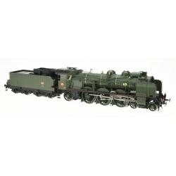 MACHINE 5-231D 71 SUD-EST, LAROCHE - Vert SNCF - DCC Sonorisée - Fumée pulsée