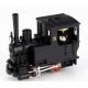 Locomotive à vapeur Krauss, sans numéro, noire