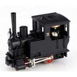 5041 - Locomotive à vapeur Krauss, sans numéro, noire