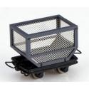 SET de 4 wagonnets pour transport de cannes à sucre