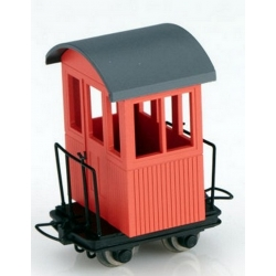Wagonnet CABOOSE rouge