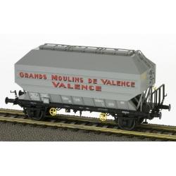 "Wagon Céréalier FRANGECO B Ep.III ""GRANDS MOULINS DE VALENCE"""