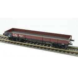 Wagon plat TP - DB 499283 XXto, 4 roues pleines Ep.III