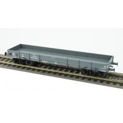 Wagon plat TP - CFL N°32-91559 NTyw, gris, 2 roues pleines, 2 roues à rayons Ep.III