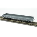 Wagon plat TP - CFL NTyw N°44152, gris, 4 roues à rayons Ep.III