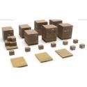 Palettes et cartons