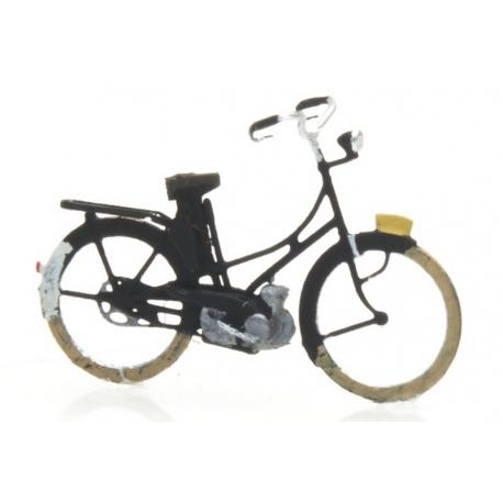 Vélomoteur noir