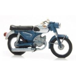 Moto ZUNDAPP bleue