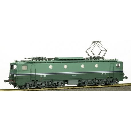 CC-7158 à jupe échancrée - Sud-Est - Ep.III - dépôt de Chambéry - ANALOGIQUE