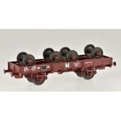 PLAT OCEM 29 Porte-essieux + 4 essieux Ep.IV