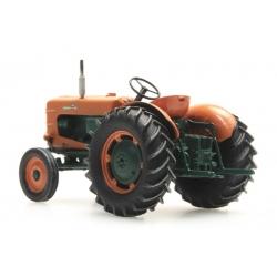 Tracteur Agricole SOMECA patiné - avec roues larges
