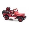 JEEP avec motopompe - Sapeurs-pompiers