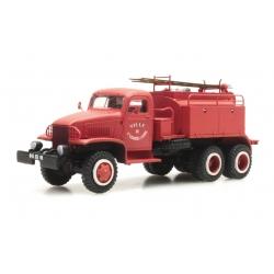 """GMC Cabine tolée """"St GEORGES SUR LOIRE"""" - Camion citerne pour feux de forêt"""